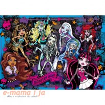 CLEMENTONI 104 EL. 3D Monster High