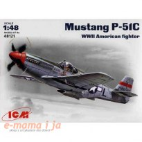 ICM Mustang P51C WWII American Fighter
